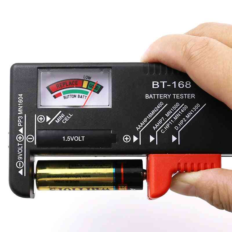 Universal Button Cell Battery Coded Meter Indicate Volt Tester
