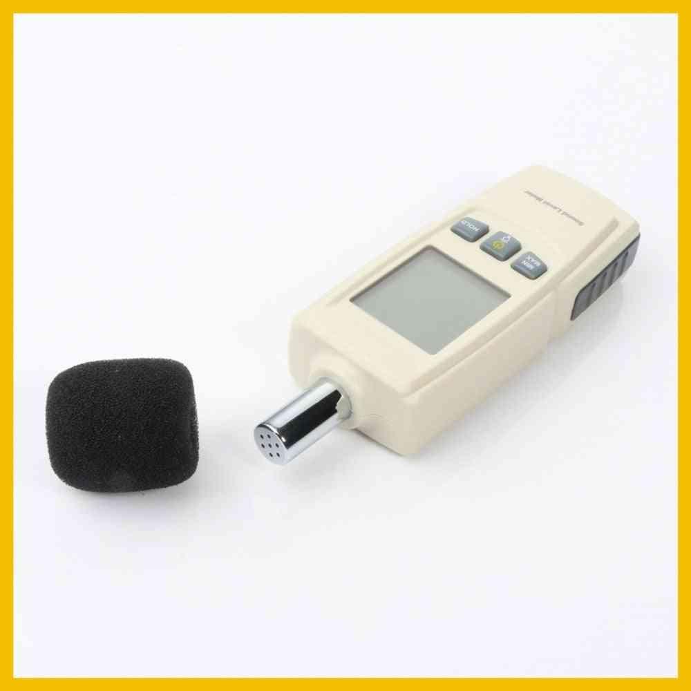 Mini Sound Level Decibel Meter, Noise Audio Detector