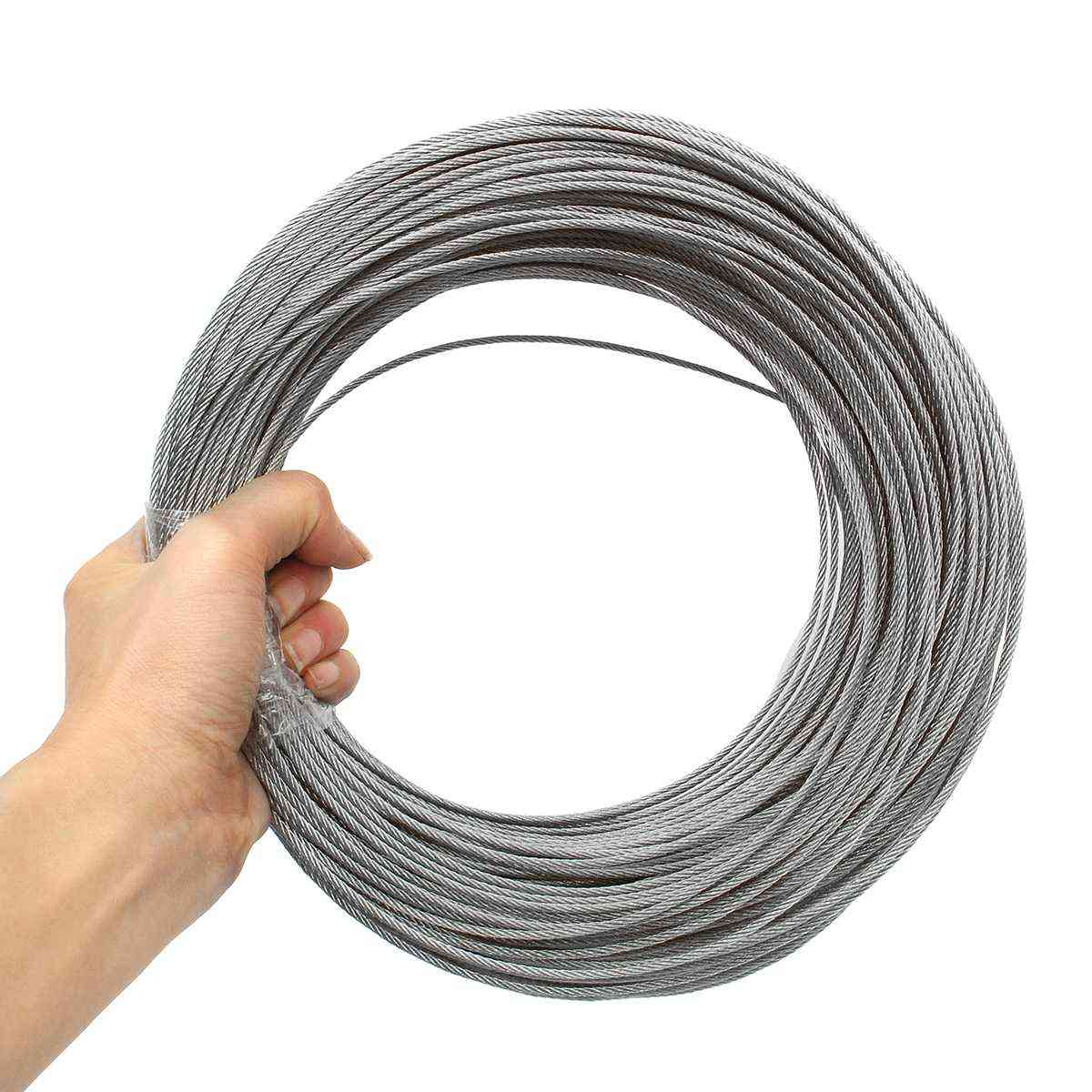 Stainless Steel Wire Rope, Fishing Lifting Cable Line