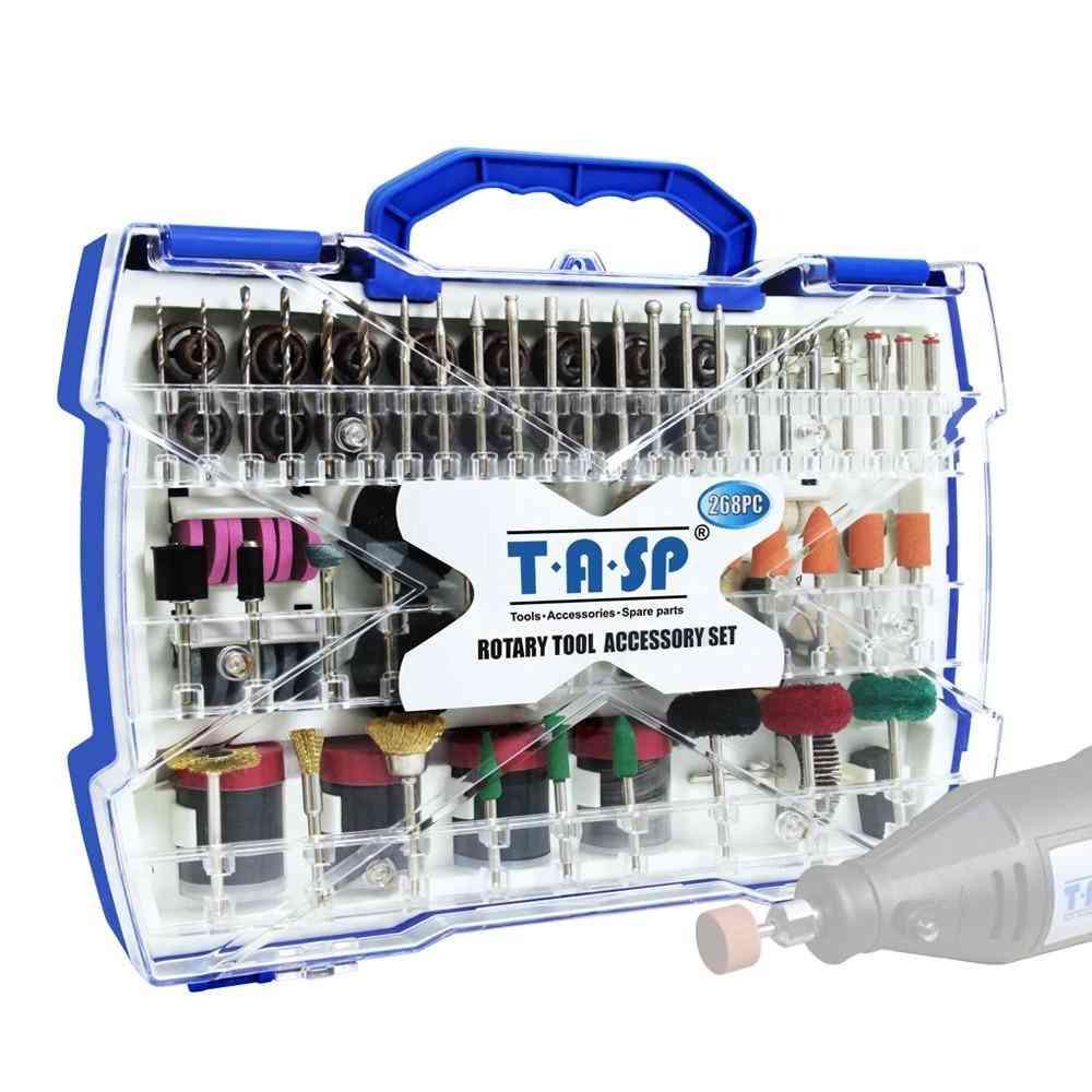 Electric Mini Drill Bit Kit Abrasive Rotary Tool Accessories Set