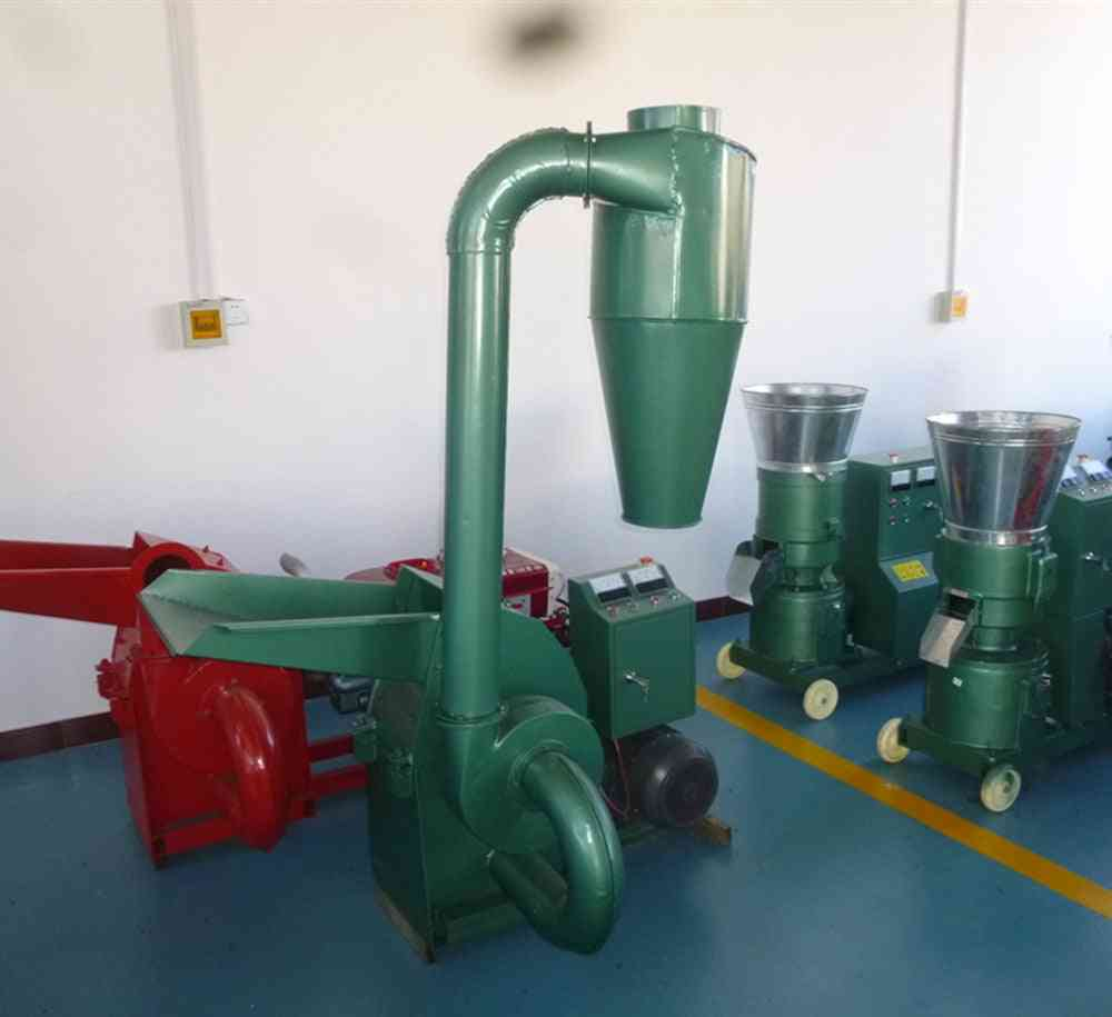 Wood Mill Animal Feed Hammer-mill With Cyclone