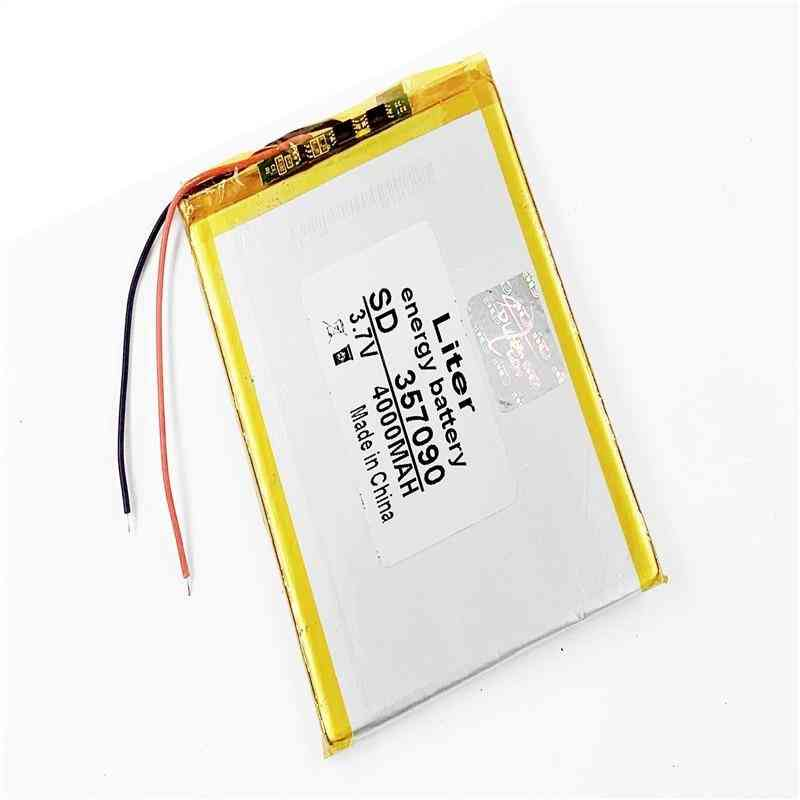 7 Inch Tablet Computer U25gt 357090 4000mah Battery