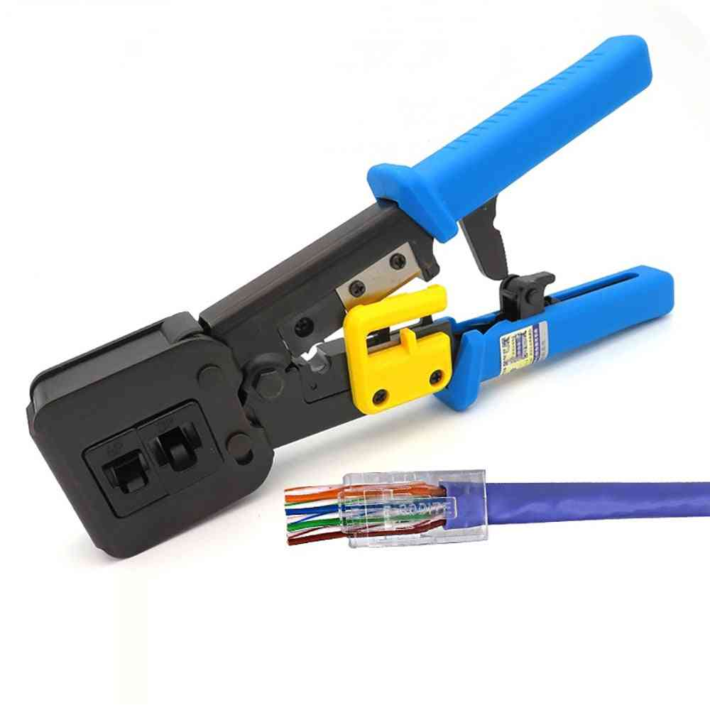Hand Network Tools Pliers Pressing Clamp Tongs Clip Cable
