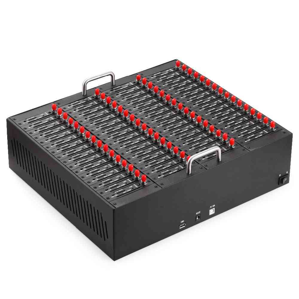 64 Port Gsm Modem Pool With Usb Interface