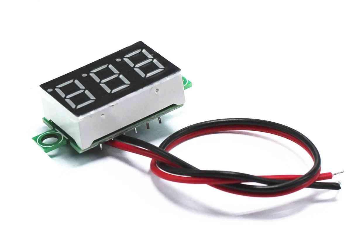 Green Second Line, Precision Dc Head, Led Digital Voltmeter