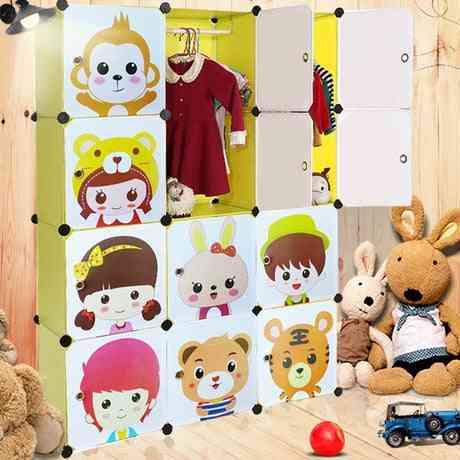 Kids Cabinet, Furniture Assembly, Resin Wardrobe Organizer