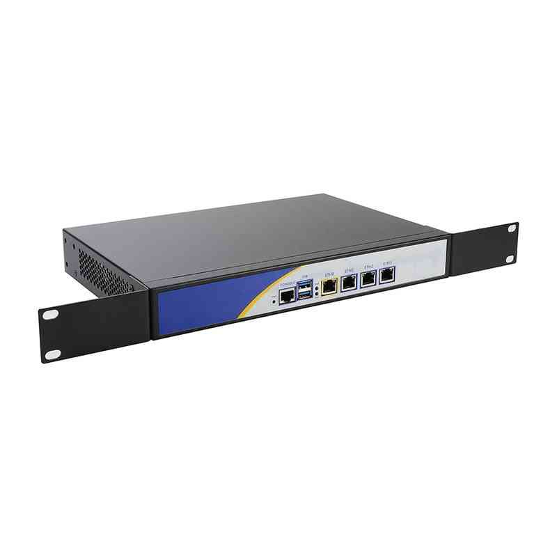 R12 Firewall Vpn, Network Security Appliance, Intel N3540 Router Pc With 4 Intel, Gigabit Lan