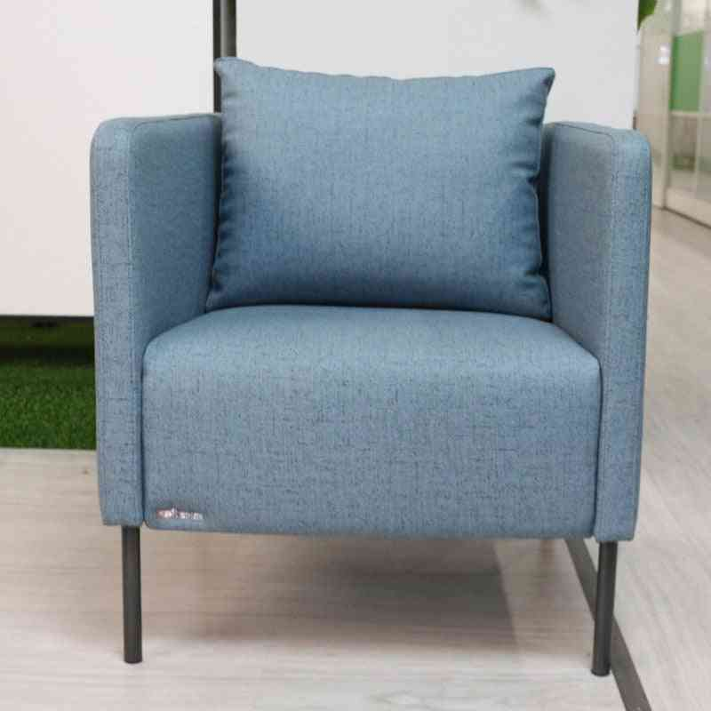 Modern Simple Design Fabric, Sofa Chair For Living Room, Office, Reception