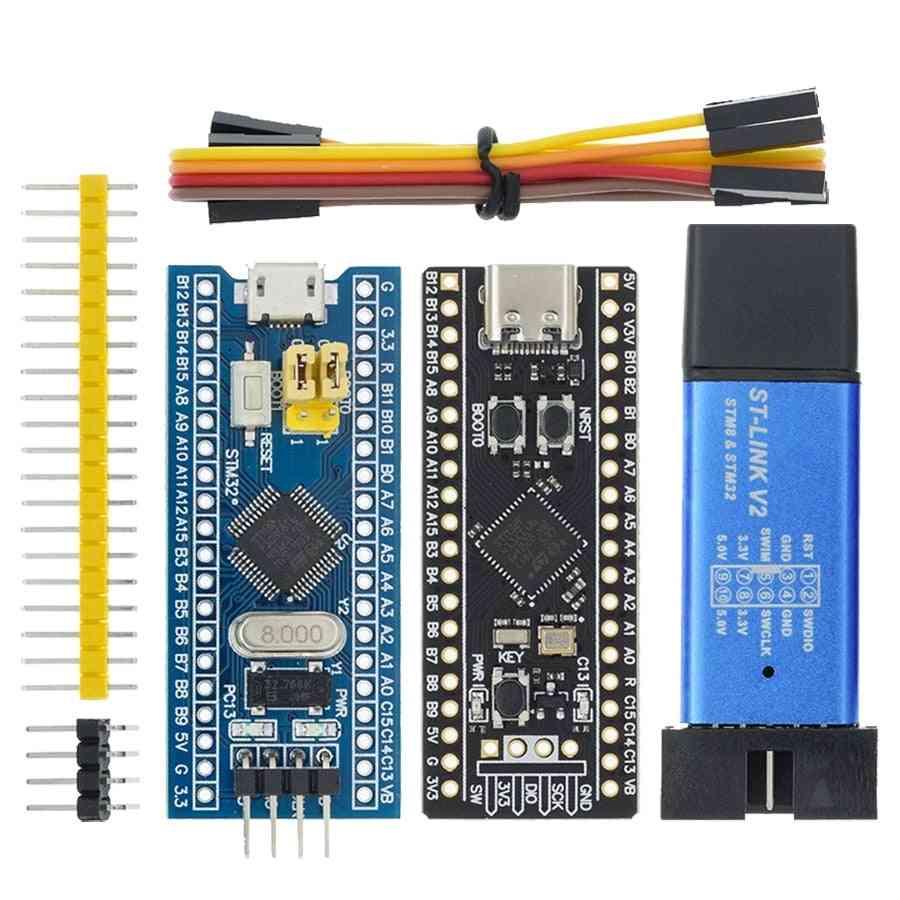 St-link V2 Simulator Download Programmer Stm32f103c8t6 Arm Minimum System Development Board