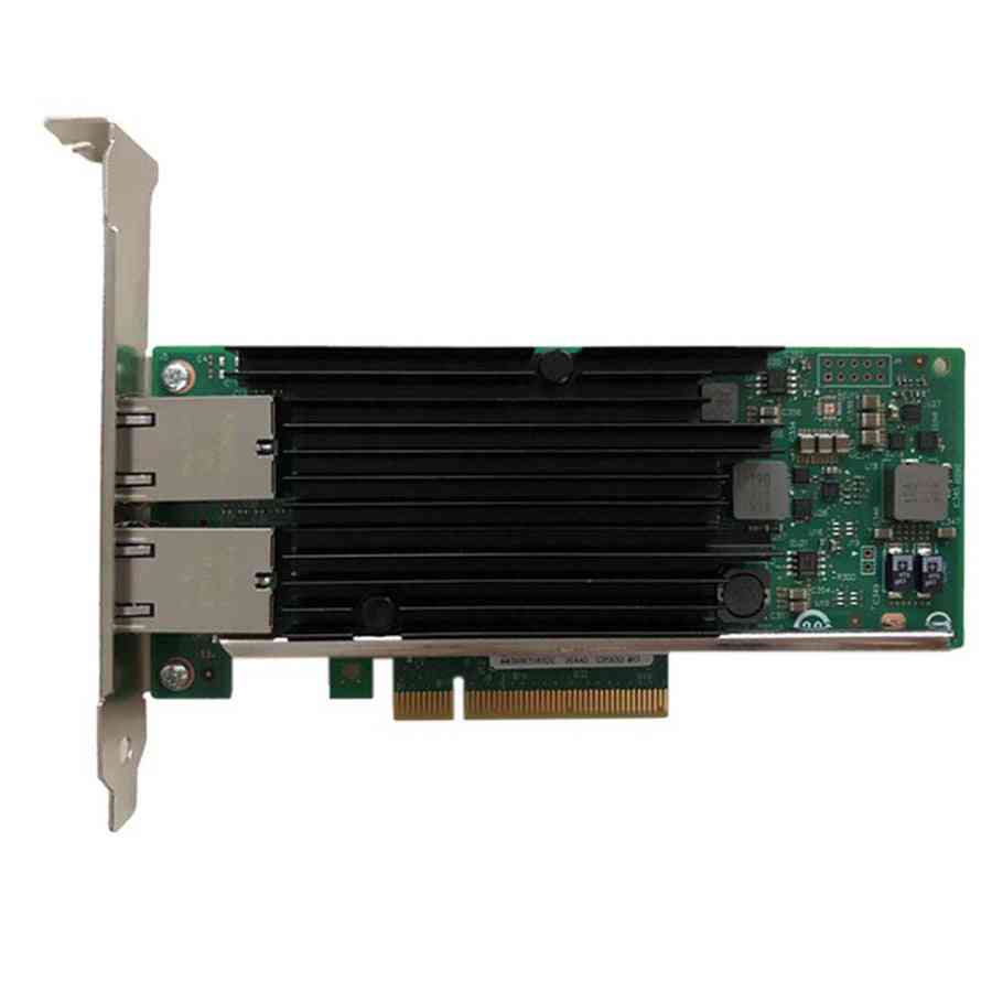 An8540-t2 Dual-port, Pci-e X8-ethernet Converged, Server Adapter, Network Lan, Controller Card