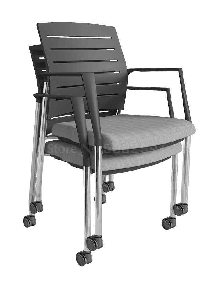 Office Armrest, Training Chair With Writing Board, Backrest Stool