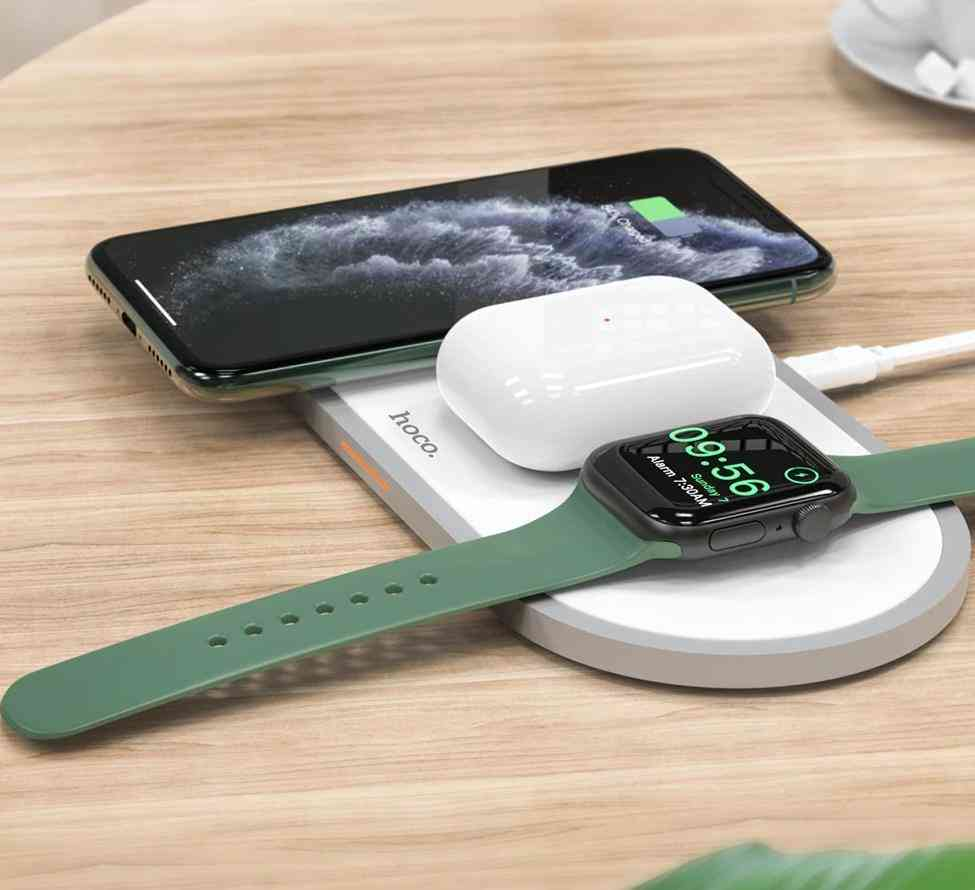 3 In1 Wireless Charger Pad For Iphone, Airpods Pro
