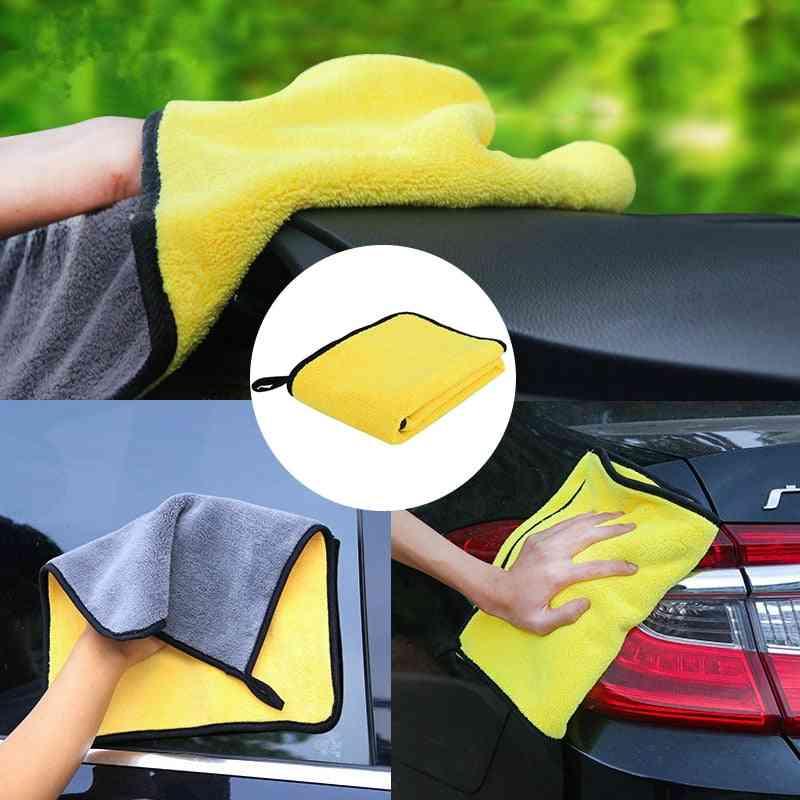 Auto Car Detailing Soft Microfibre Towel, Care Polishing, Washing