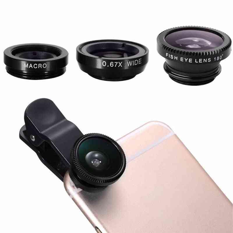 Fish Eye Lens Camera Kit