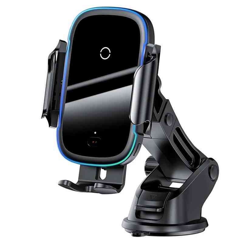 Car Wireless Charger, Fast Charging With Phone Holder