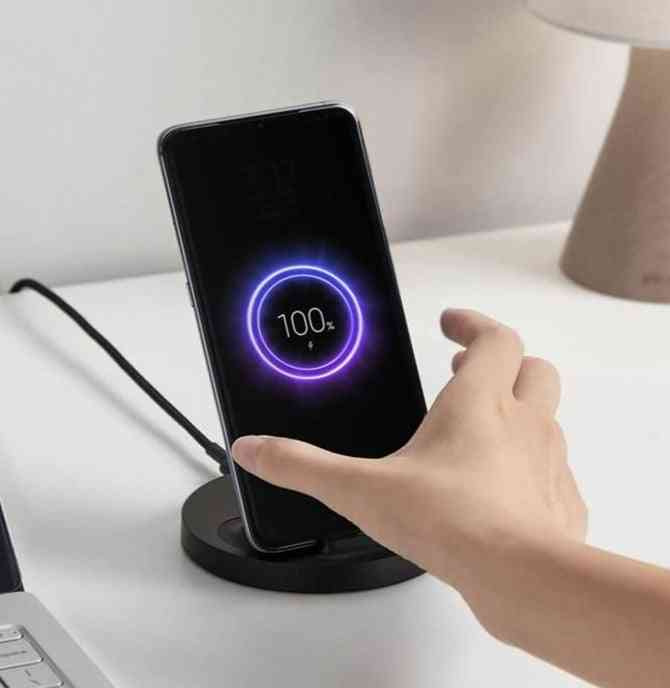 Wireless Charger, Max Flash Charging Compatible Multiple Safe Stand Horizontal