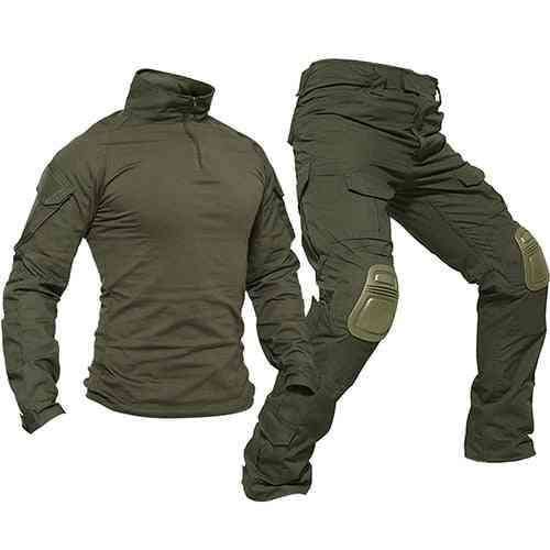 Men Rip-stop Camouflage Military Clothing Sets