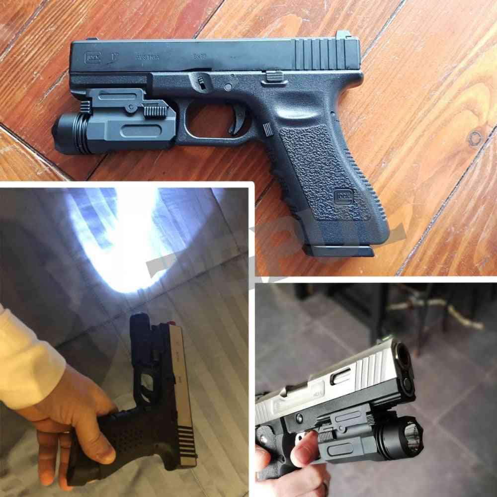Airsoft Mini Pistol Light, Detach Handgun, Flashlight Led Rifle Gun, Tactical Torch