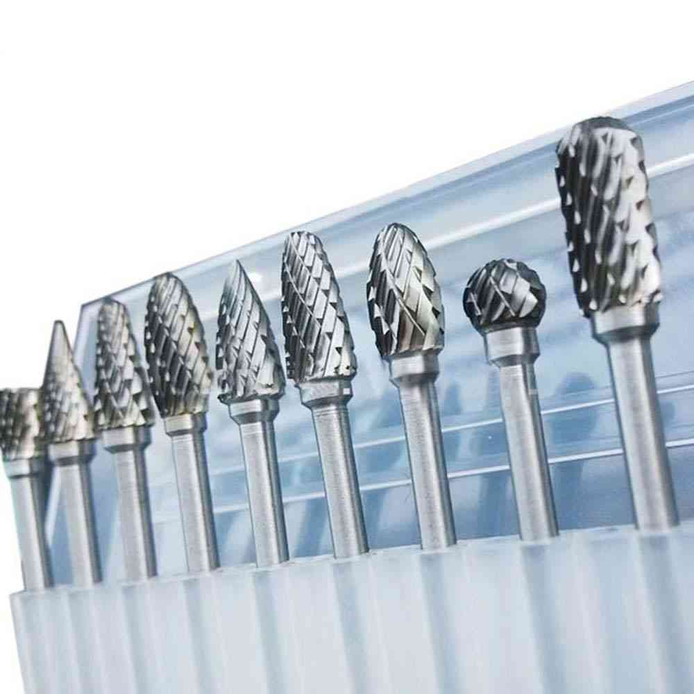 Tungsten Carbide Drill Bit For Metal Burr, Milling Cutter