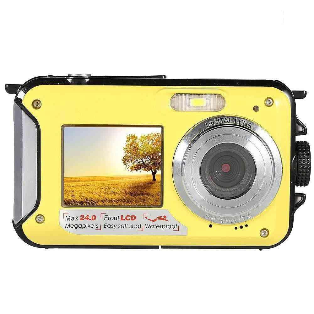 Double Screen Digital Waterproof Camera