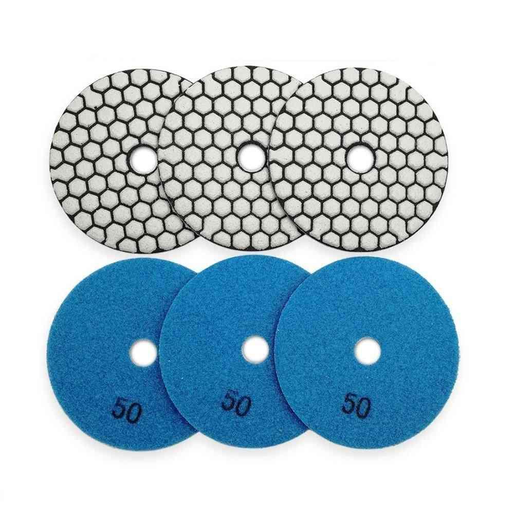 Diamond Flexible Dry Polishing Pad Resin Bond, Nylon Buckle