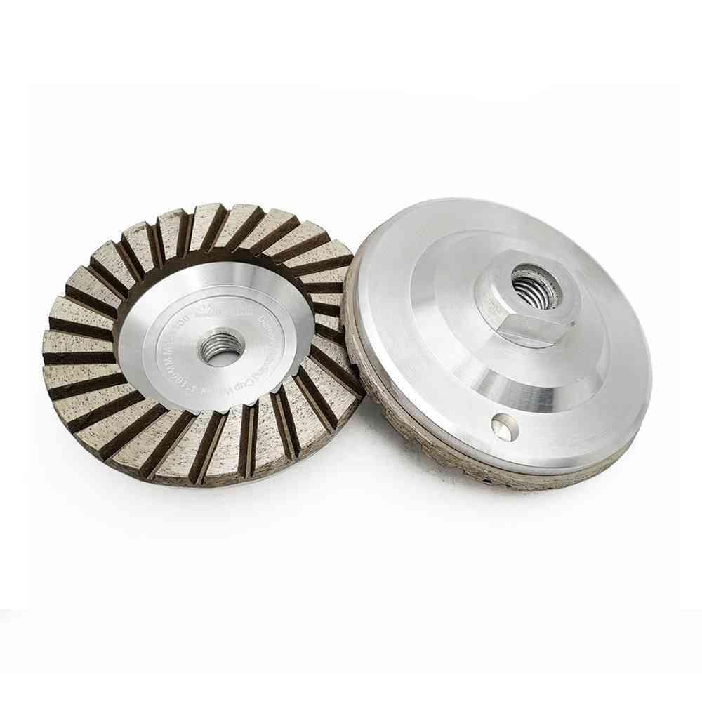 2pcs  Aluminum Based Diamond Grinding Cup Wheel