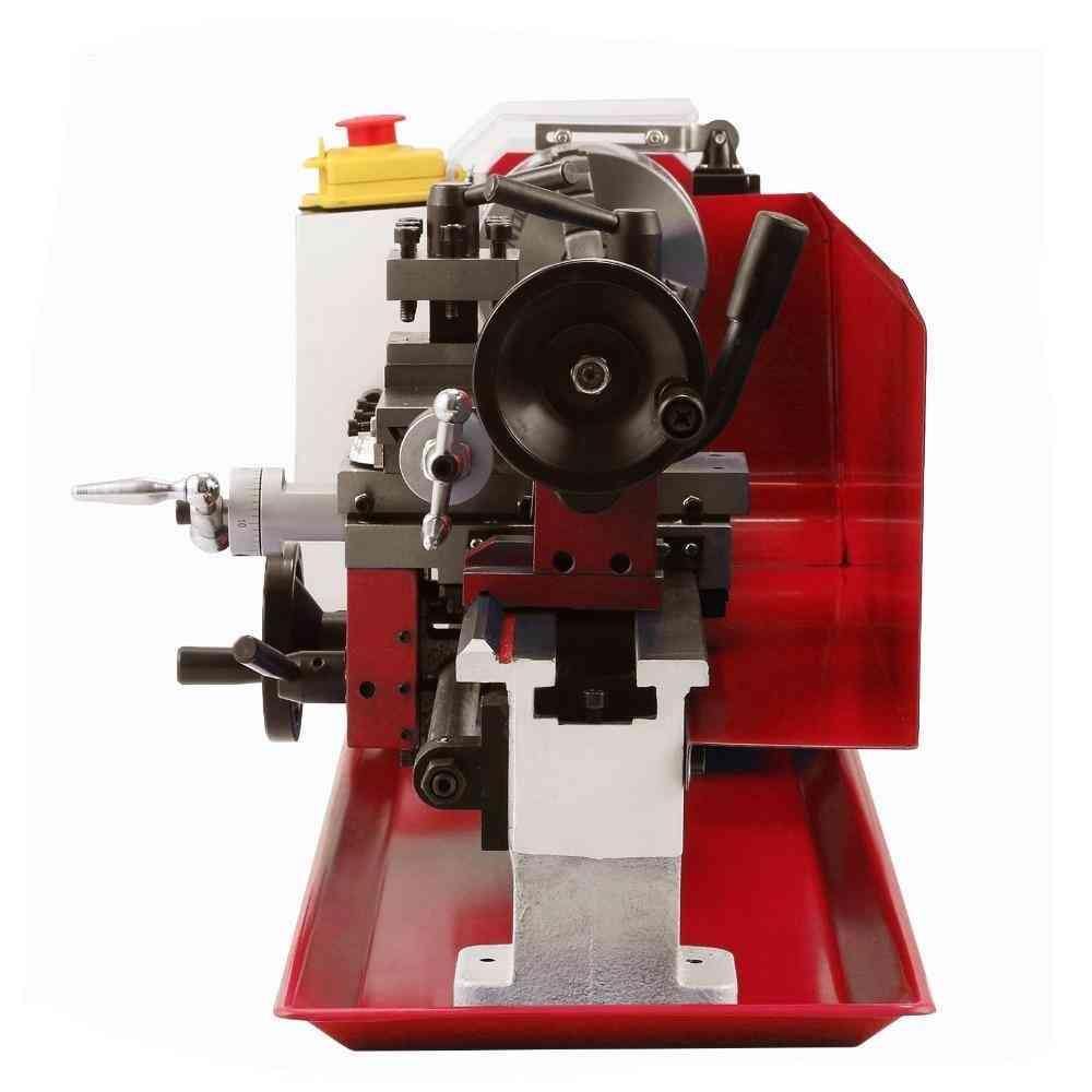 Mini High Precision Diy Benchtop Metal Lathe Tool Machine