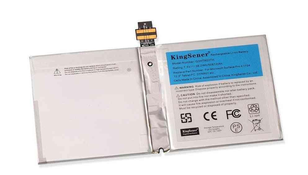 7.5v Laptop Battery For Microsoft Surface Pro, 12.3