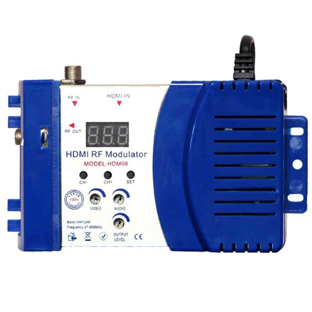 Hdm68 Digital Rf Modulator- Av To Rf Converter