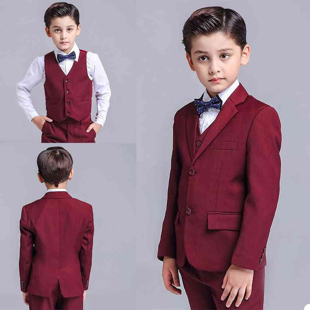 3-pieces Formal Tuxedos, Dinner Prom Suit For