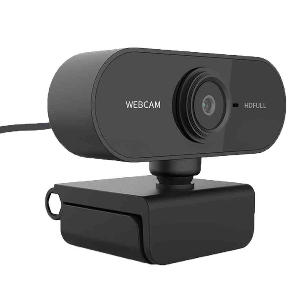 2.0 Hd Rotatable, Video Recording, Web Camera With Microphone