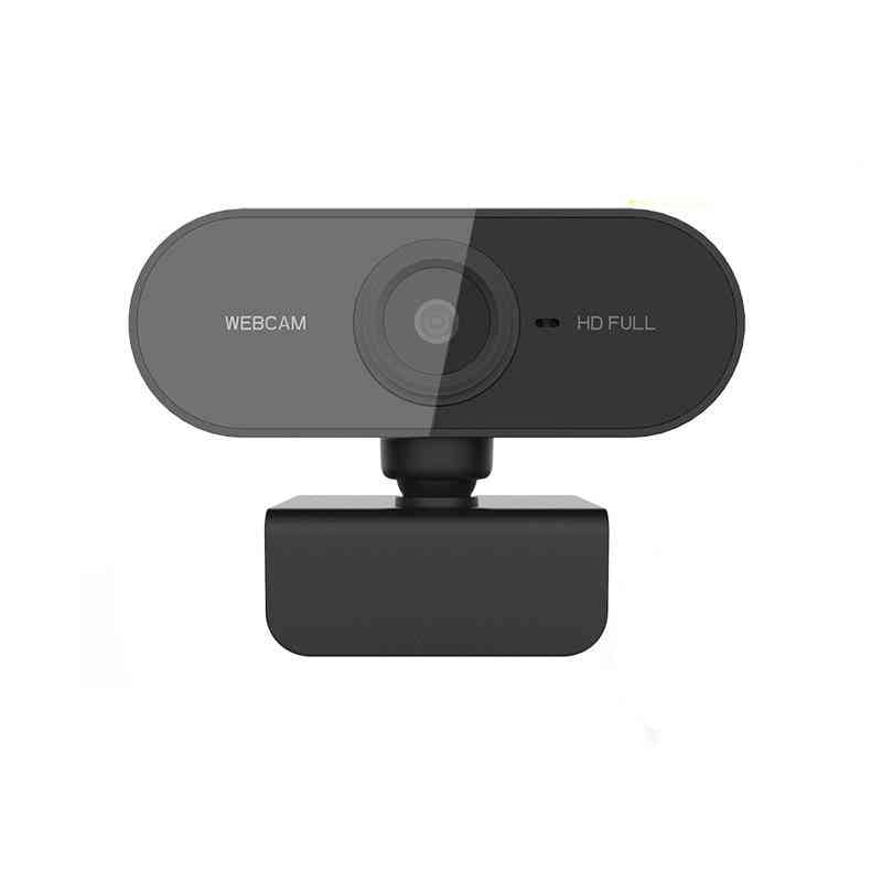 Full Hd, Web Camera With Microphone For Computer, Laptop