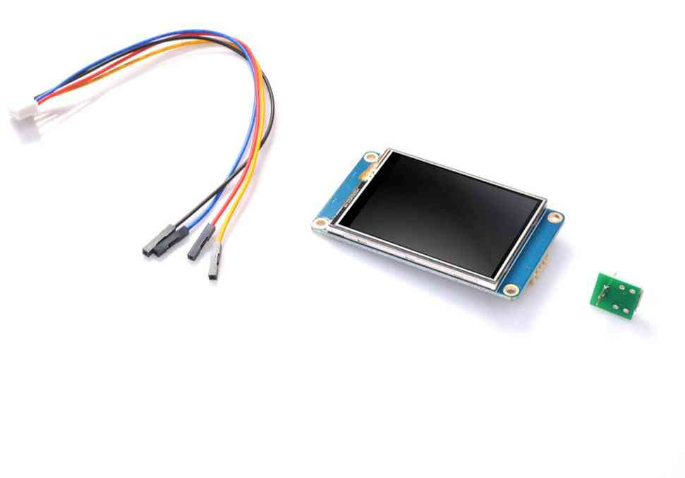 2.4'' Full-color, Hmi Intelligent, Lcd Resistive, Touch Display Module
