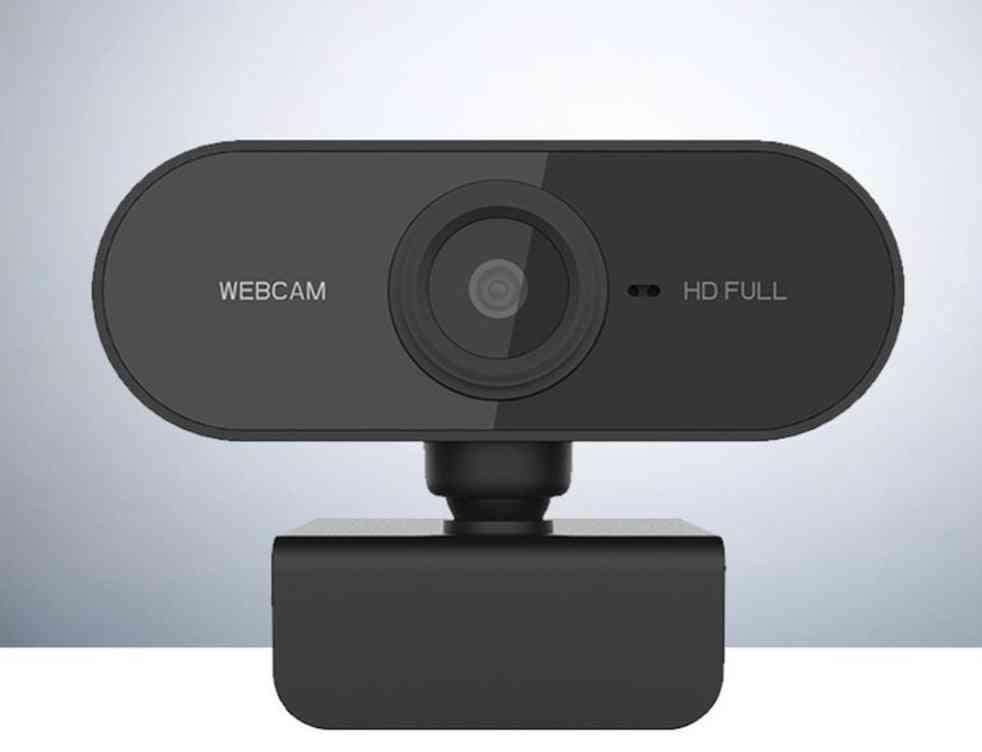 Hd Video Recording With Mic Rotatable, Pc Desktop, Web Camera