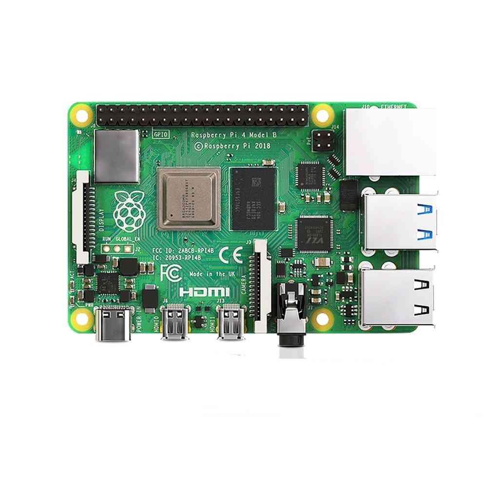 Raspberry Pi-4 Model, Bcm2711, Quad Core, Cortex-a72 Arm (8gb Ram)