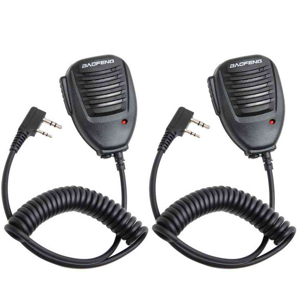 Handheld Microphone, Speaker Mic For Radio Walkie Talkie