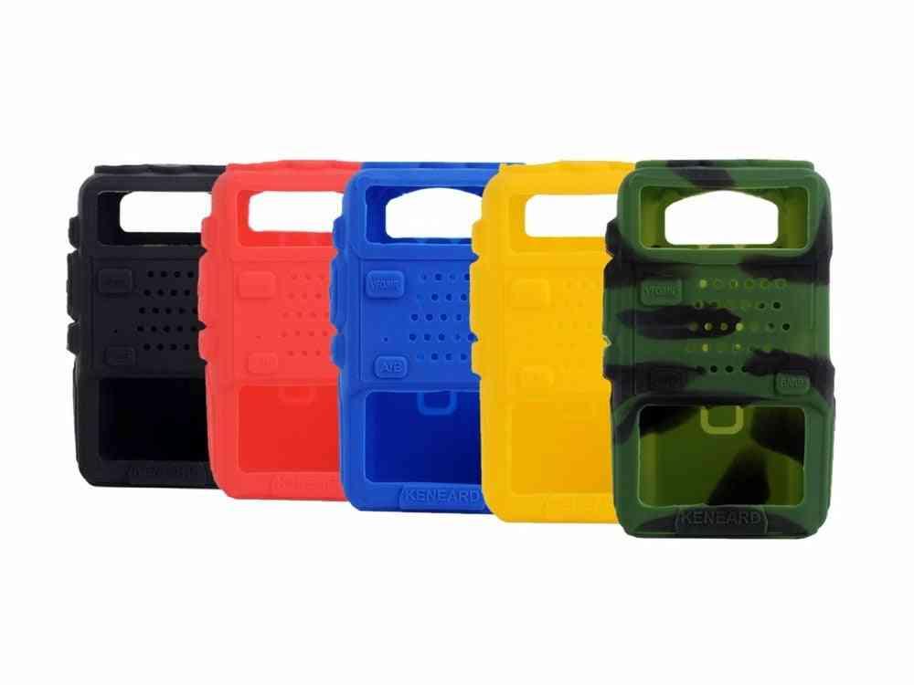 Rubber Soft Handheld, Case Holster For Radio
