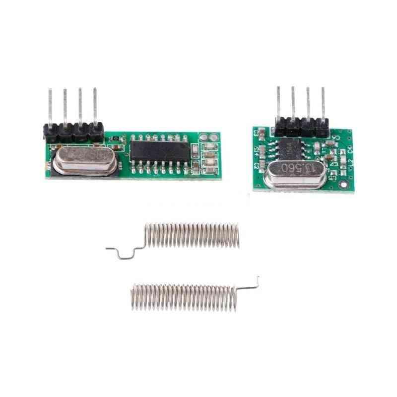 Rf Receiver & Transmitter, Module Kit With 2-antennas
