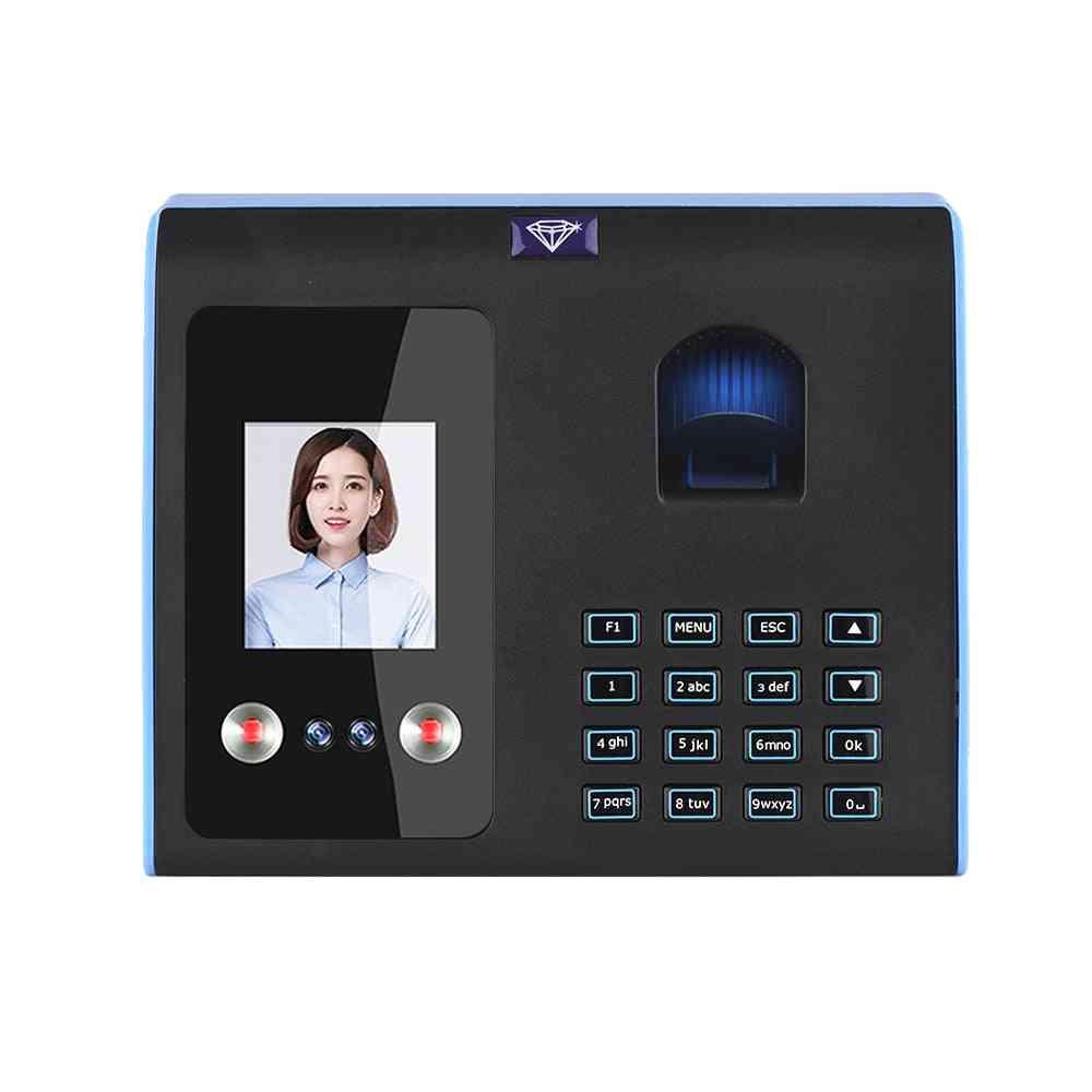 Intelligent Attendance Machine, Face, Fingerprint Password Recognition Clock For Employees