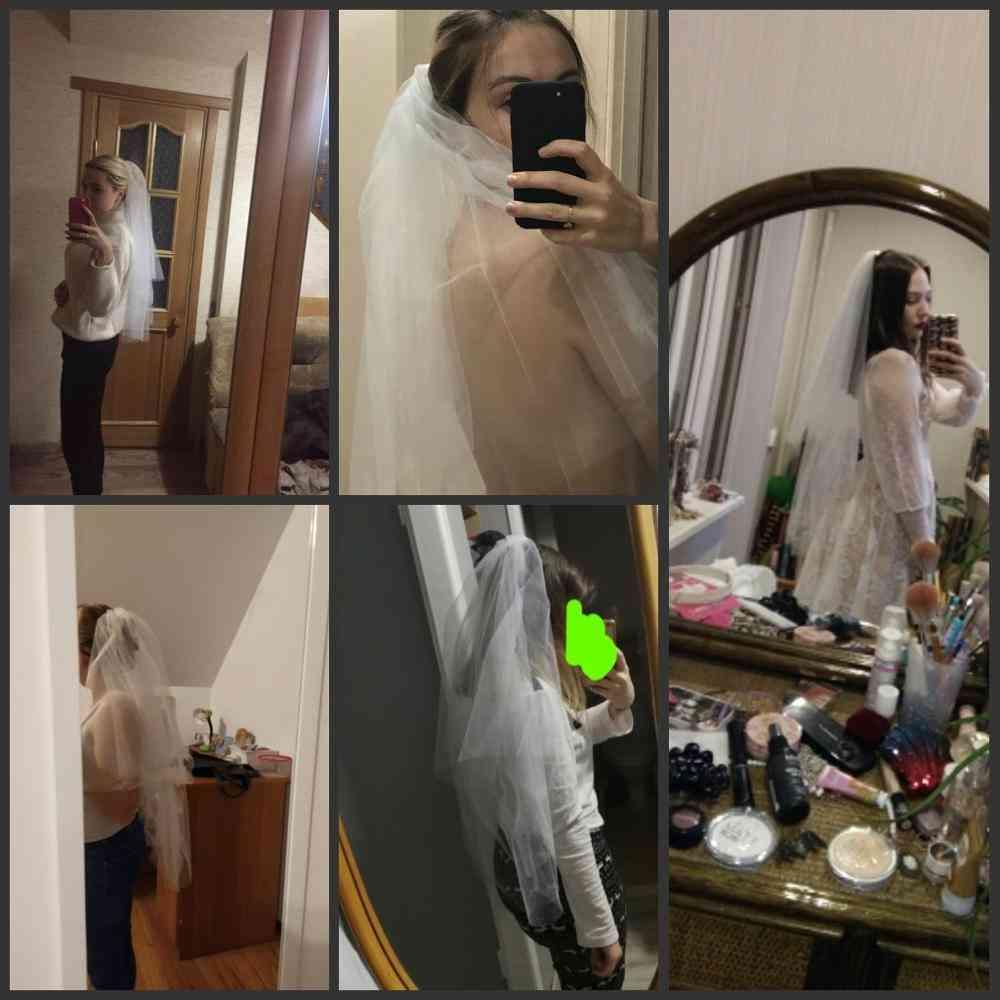 Short Veil, Bridal Wedding Accessories