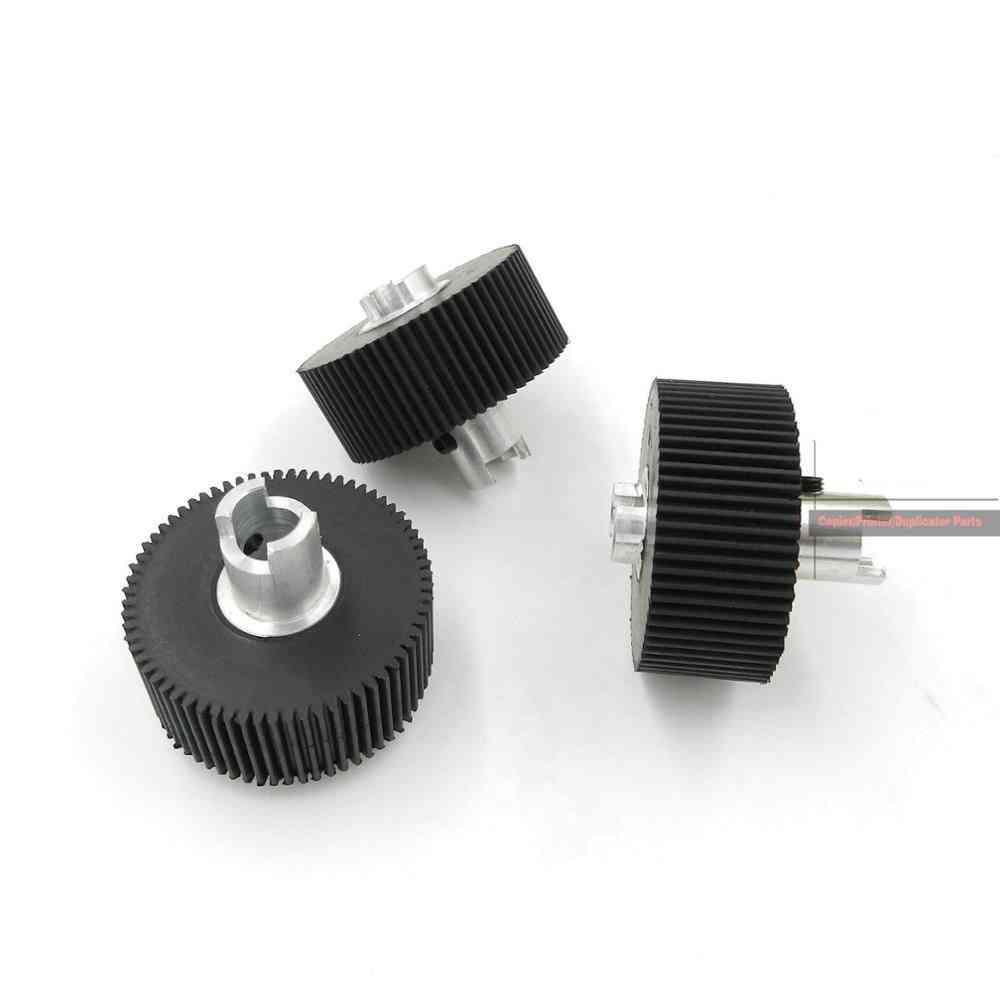 3pcs- Tire Rubber, Pickup Roller