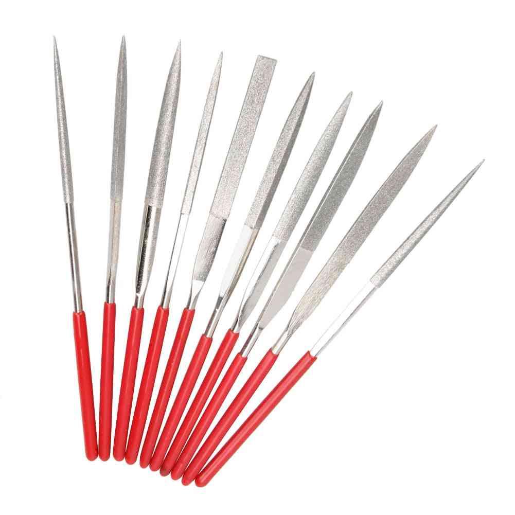 Mini Diamond, Needle File Set- Handy Ceramic Craft Tool