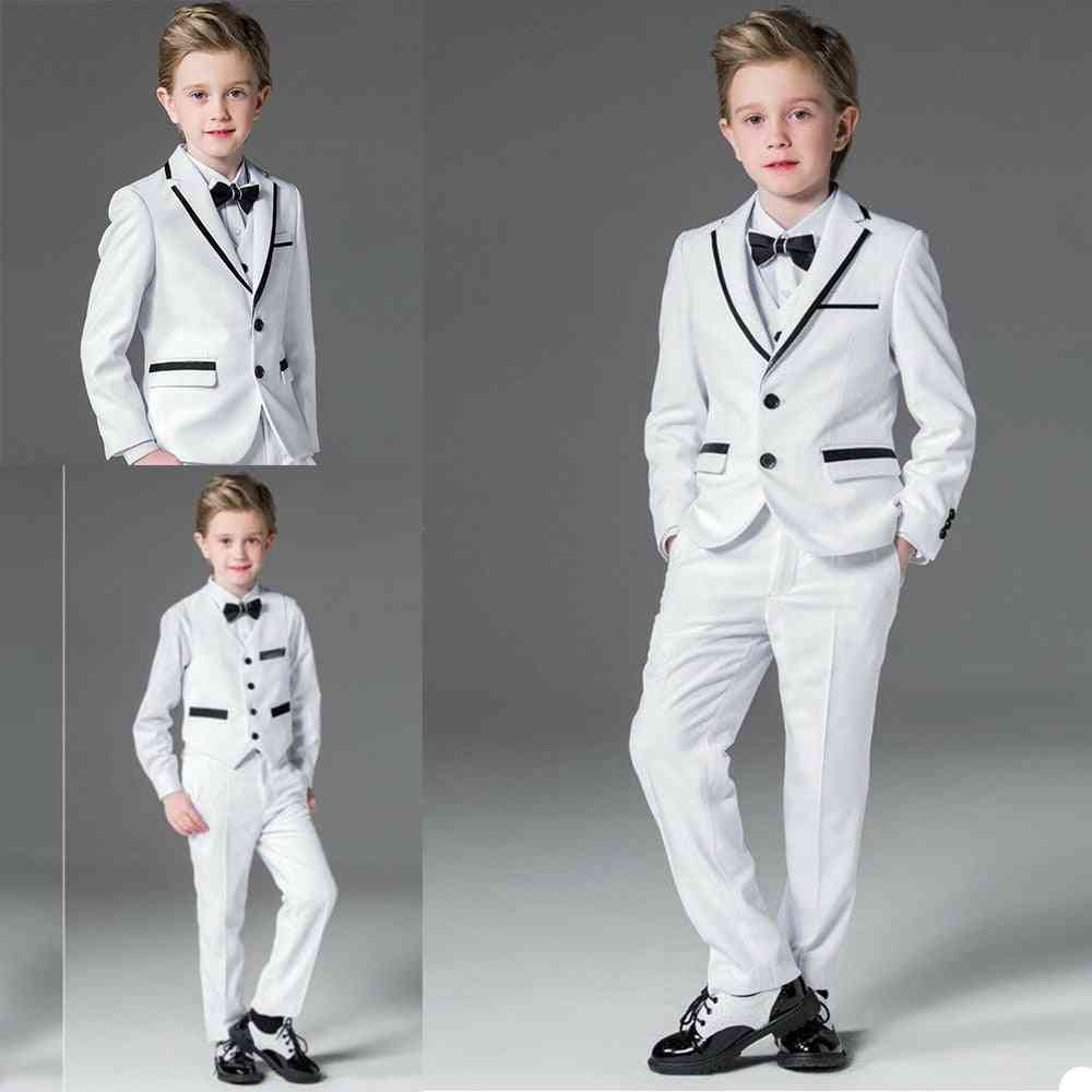 Kids Tuxedos, Formal Wear 3 Pieces Set, Suits For Wedding