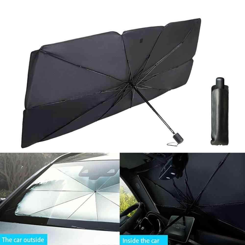Car Windshield Cover, Window Shade & Front Sun Block, Interior Protection Sunshade