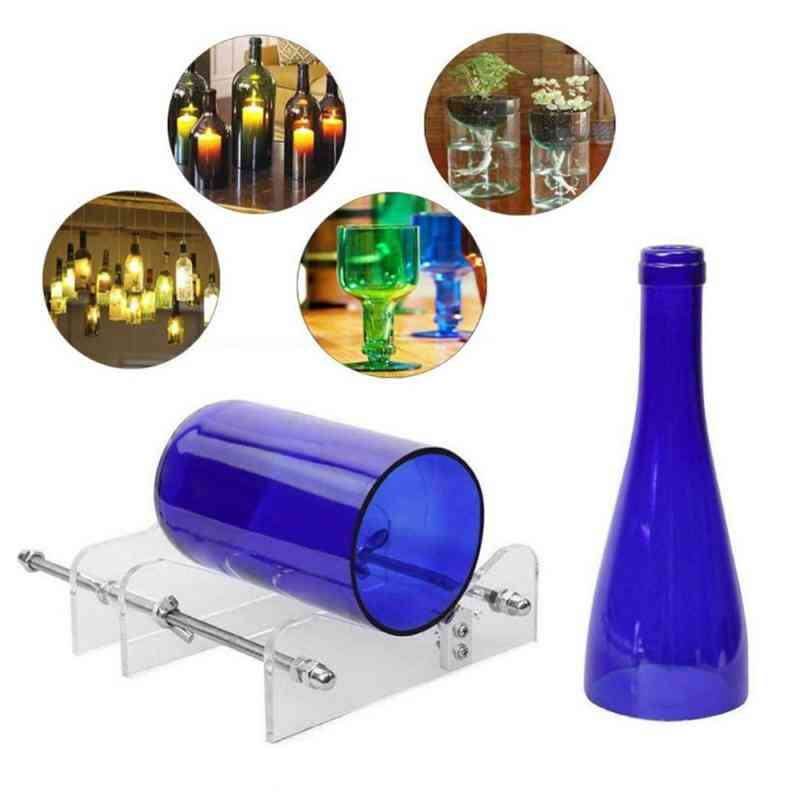 Wine, Beer Glass, Bottle Handcraft Cutting, Safety Machine Tool
