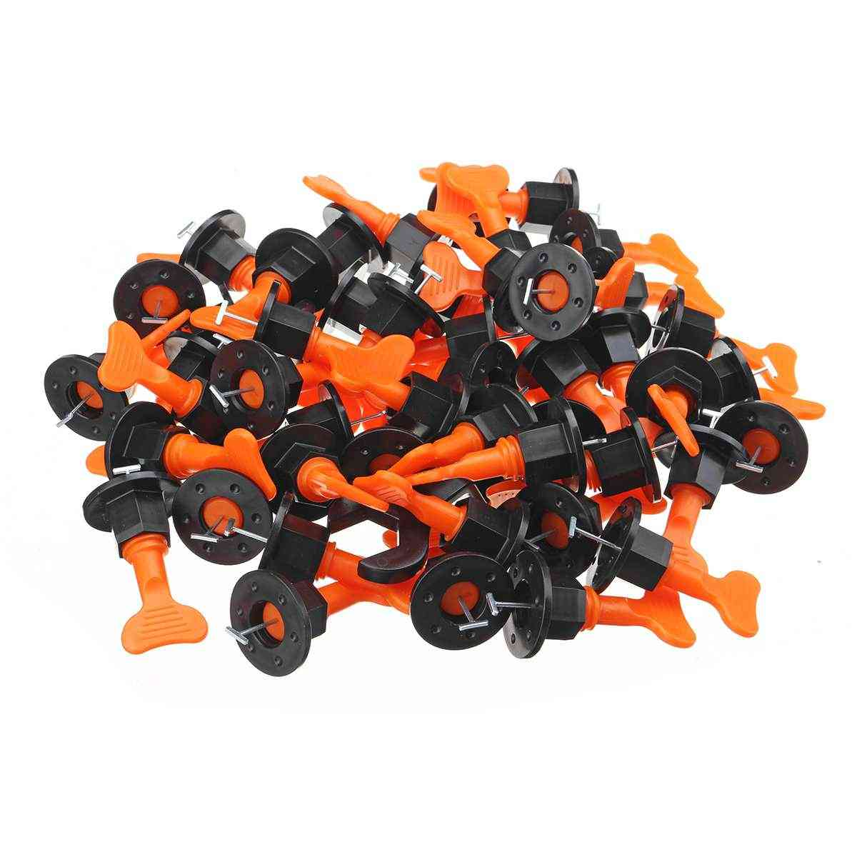 100pcs- Tile Wedges Alignment, Spacers Locator, Leveling System Tool
