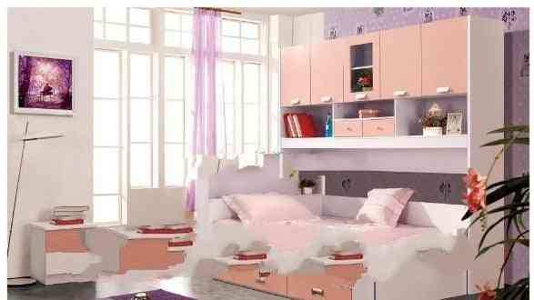 Children Furniture Sets, Large Bed Sets Chest Garderobe Armoire Wardrobe Commode