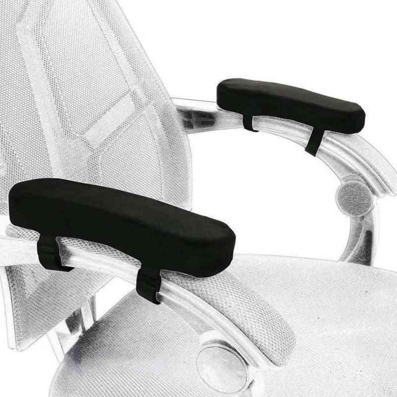 2pcs Memory Foam -comfy Office Chair Armrest Pad