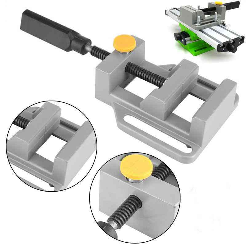 Bench Vise, Mini Table, Clamp Screw For Craft Mold, Fixed Repair Tool