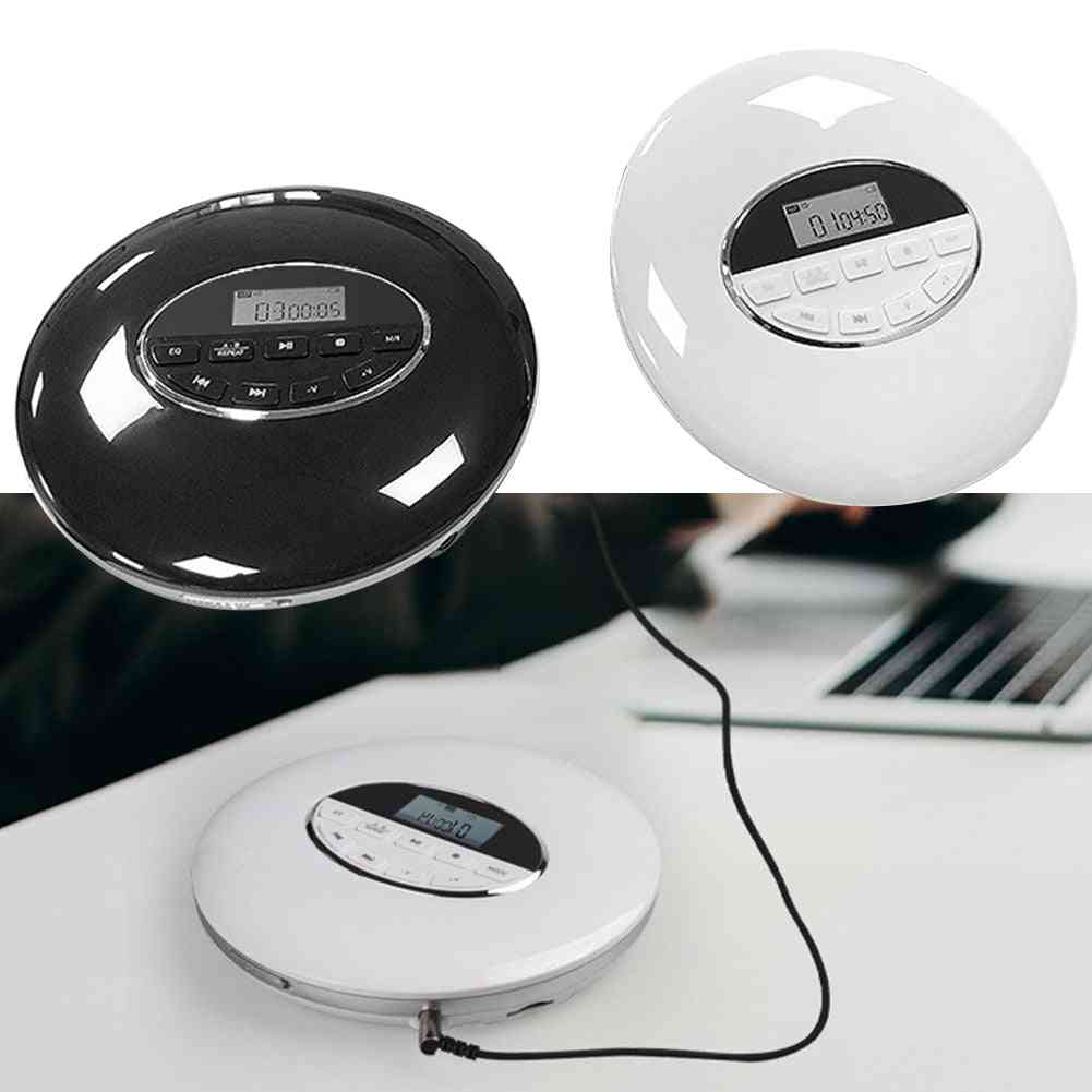 Portable Cd Player With Bluetooth Walk Man Player With Lcd Display Audio